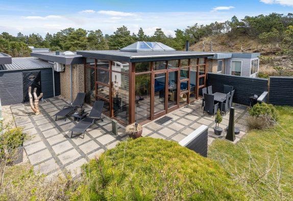 Schickes Appartment für 4 Personen mit Wintergarten in Blåvand
