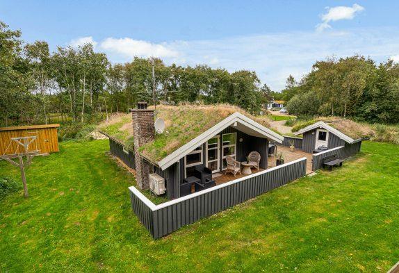 Ferienhausidylle auf einem ungestörten Naturgrundstück in Blåvand