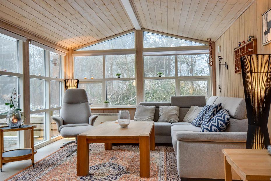 ruhig gelegenes ferienhaus mit aktivit tsraum au ensauna und gro er terrasse esmark. Black Bedroom Furniture Sets. Home Design Ideas