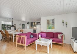 Einladendes Ferienhaus mit schönen Terrassen (Bild 3)