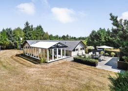 Ferienhaus mit Whirlpool und Wintergarten in schöner, ungestörter Umgebung. Kat. nr.:  61133, Vestervænget 16;