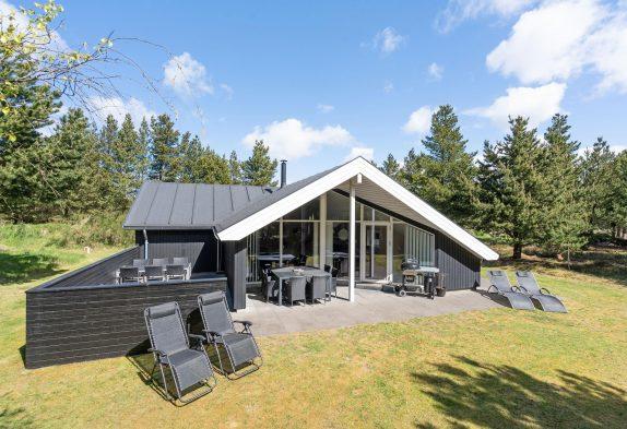 Gepflegtes Sommerhaus in Ho bei Blåvand, Sauna und Whirlpool