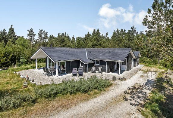 Helles und einladendes Ferienhaus mit Sauna in ungestörter Lage
