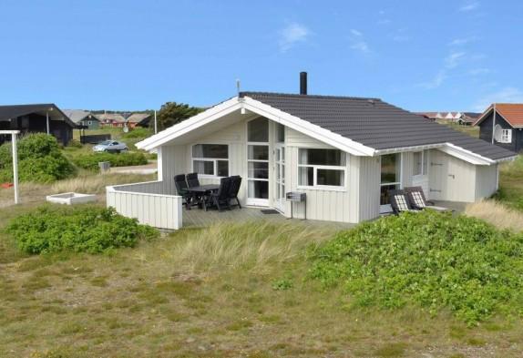 Schönes Ferienhaus mit überdachter Terrasse