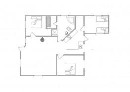 Schönes Ferienhaus mit überdachter Terrasse (Bild 2)