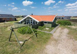 Godt sommerhus i Vestjylland til familie med hund. Kat. nr.:  A1132, Sønder Klitvej 298;
