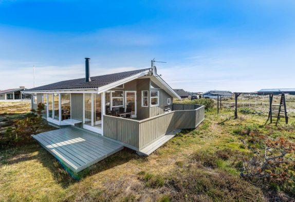 Ferienhaus nah am Strand – mit geschlossener Terrasse