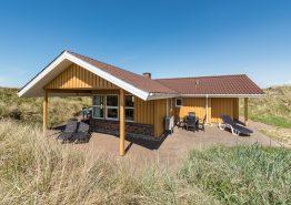 Nyd naturen med din hund i skønt feriehus på klitgrund