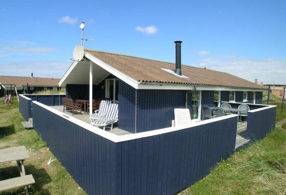 Gepflegtes Ferienhaus mit geschlossener Terrasse