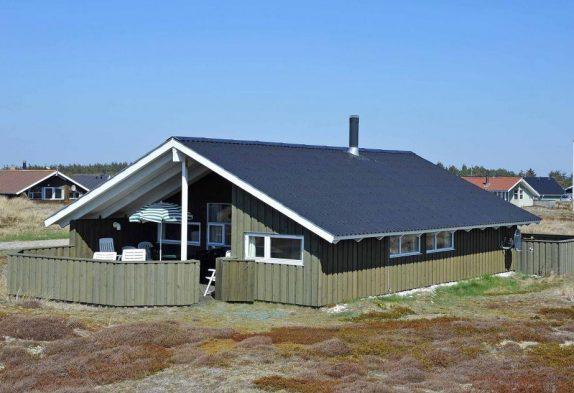 Anglerfreundliches Ferienhaus in Bjerregård
