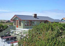 Moderne feriehus med fantastisk udsigt fra terrasserne