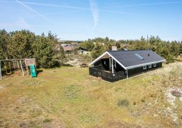 Ferienhaus in Westjütland mit gemütliche Alkoven und Holzofen