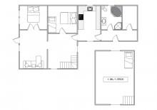 Gemütliches Ferienhaus mit kostenlosem Energieverbrauch (Bild 2)
