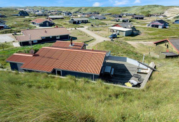 Echt gemütliches Ferienhaus am Strand in Bjerregård