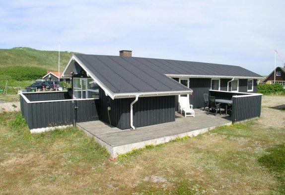 Energiefreundliches Ferienhaus, 50 Meter bis zum Strand
