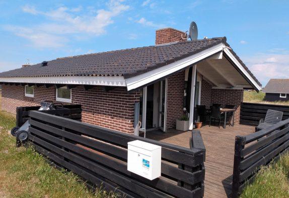 Børnevenligt sommerhus på vestkysten i Danmark