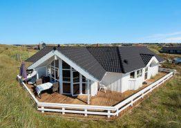 Helles Ferienhaus in Dänemark- 200 Meter zum Sandstrand
