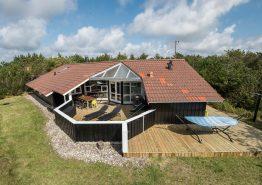 Luxusferienhaus in Westjütland mit Whirlpool und Sauna