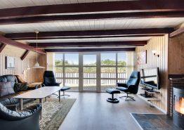 Energiefreundliches Ferienhaus – eingezäunte Terrasse (Bild 3)