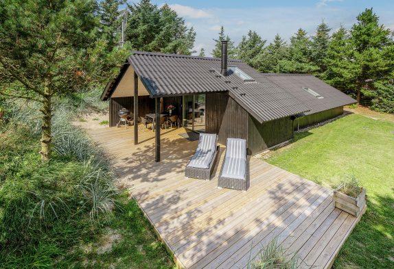 Helles modernes Ferienhaus im beliebten Bjerregård – Hund erlaubt