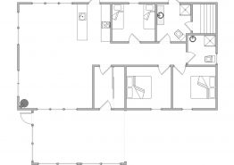 Fünf Sterne Ferienhaus mit Sauna, Außendusche und schnellem Internet (Bild 2)