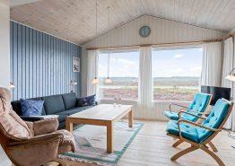 Ferienhaus mit Panoramablick, in den Dünen und dicht am Meer (Bild 3)
