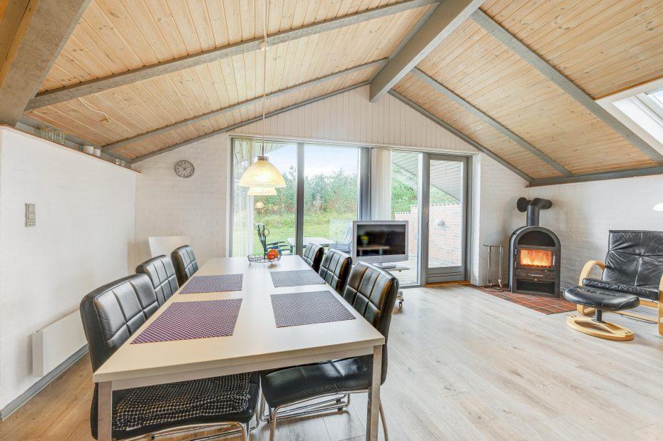 Familienurlaub im Ferienhaus mit Sauna und Kaminofen - Esmark