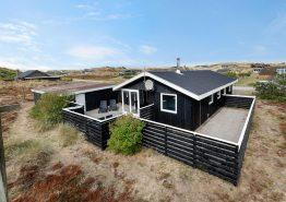 Strandhaus mit geschlossener Terrasse – 1 Hund erlaubt