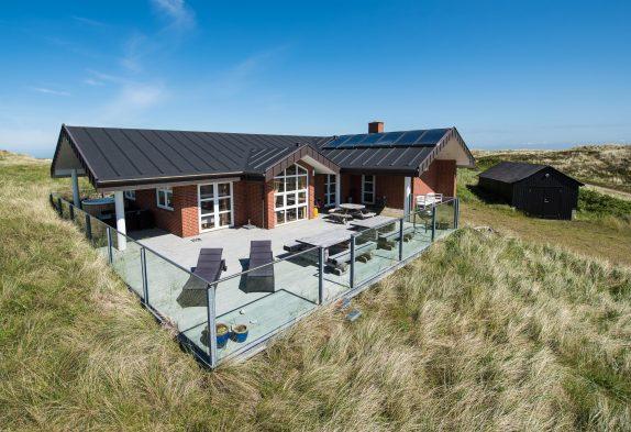 Haus mit Außenwhirlpool, Sauna und bester Dünenaussicht