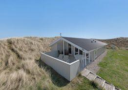 Schönes Ferienhaus mit Aussicht auf die Landschaft