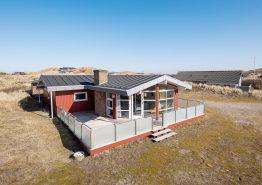 Hyggeligt feriehus i Skodbjerge med brændeovn og sauna. Kat. nr.: C3521, Sandvej 8;