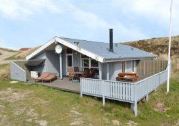 Ferienhaus mit Blick auf den Ringkøbing Fjord und Sauna. Kat. nr.:  C3628, Havvej 10;