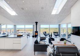 Lækkert feriehus med sauna, spa og fantastisk udsigt til fjorden (billede 3)