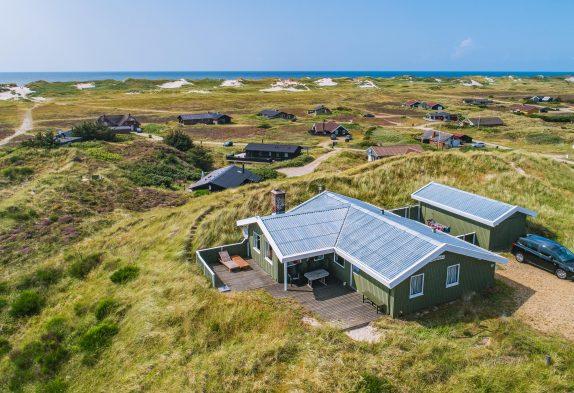 Ferienhaus mit Aussicht auf den Ringkøbing Fjord