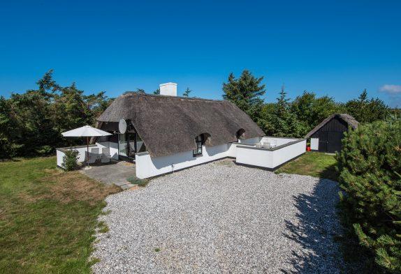 Gemütliches Haus mit Kamin und Reetdach