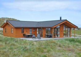 Luxusferienhaus in Haurvig mit Blick auf den Fjord