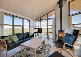 Luxusferienhaus in Haurvig mit Blick auf den Fjord (Bild 3)