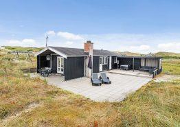 Hell eingerichtetes Sommerhaus dicht am Strand (Bild 1)