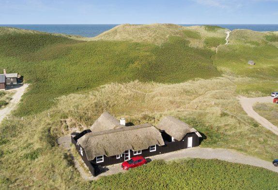 Schönes Ferienhaus nah an den Dünen und der Nordsee