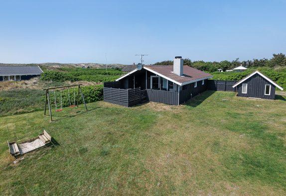 Ferienhaus mit geschützter und geschloßener Terrasse