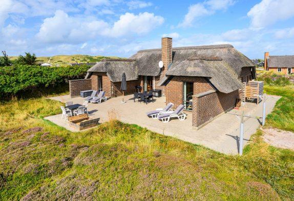 Landestypisches Ferienhaus mit Sauna nah der Nordsee