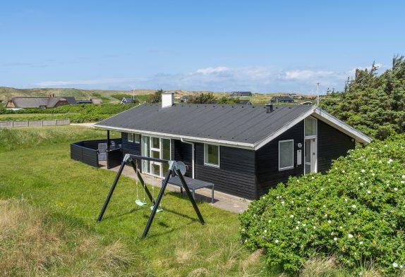 Tolles Ferienhaus mit Dampfkabine am Årgab Strand