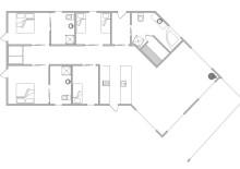 Qualitätshaus mit 3 Badezimmer und Fjordblick (Bild 2)