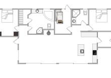 Sommerhaus in ruhiger Lage mit überdachter Terrasse (Bild 2)