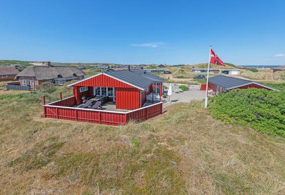 Gemütliches Ferienhaus mit Terrasse nahe der Nordsee
