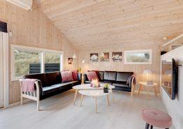 Nyrenoveret sommerhus med spa, sauna og 250m til havet (billede 3)