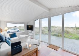 Ferienhaus mit Aussensauna und Badetonne, 350 m bis zum Meer (Bild 3)