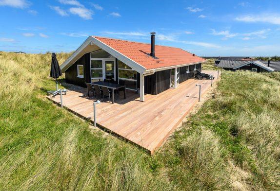 Qualitätshaus mit Kaminofen nah an den Dünen & dem Meer
