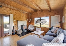 Gemütliches, strandnahes Holzhaus mit tollem Dünenblick (Bild 3)