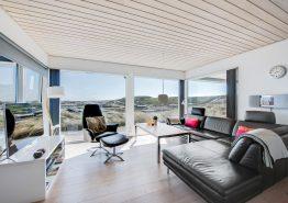 Hoch gelegenes Ferienhaus auf einer Düne mit Fjordblick (Bild 3)